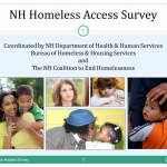 2012 Homeless Access Survey Cover